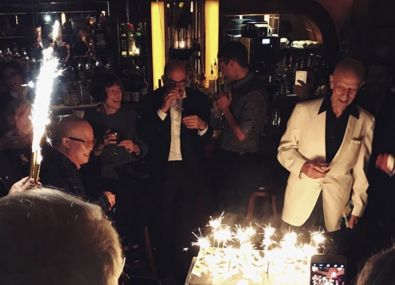 Alex Katz birthday party.JPG